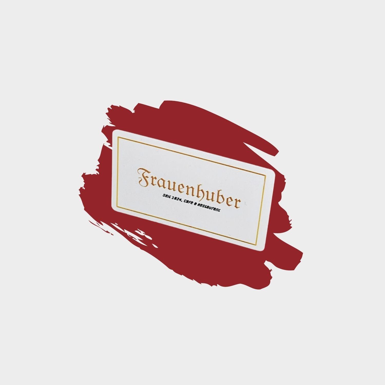 Café Frauenhuber-Gutschein 20€